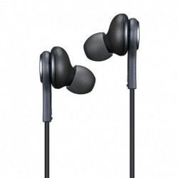 Fekete - Samsung Galaxy S8 S8   Note8 fülhallgató sztereó fejhallgató fülhallgató fejhallgató fülhallgató