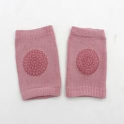 Rózsaszín - Csecsemő kisgyermek puha csúszásgátló könyökpárna csúszó mászó térdvédő gyerekek baba széf