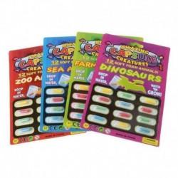 Nincs szín - 4db Magic Grow kapszula baba megismerési játékok oktatási játékok nagyobbak vízben UK