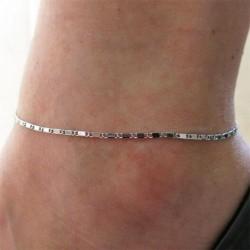 20 * - Divat női boka ezüst arany varázsa boka lánc karkötő láb szandál ékszerek