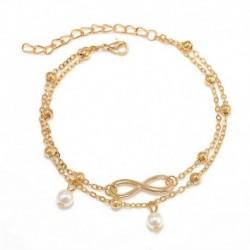 * 1 Arany - Boho bokaváz karkötő Strand teknős gyöngy tengeri csillag kristály gyöngy lánc karkötő