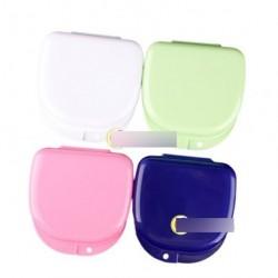 1xVegyes színes Fogászati fogszabályozótartó doboz