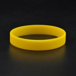 Sárga - 12 szín divat divat férfi női sport szilikon gumi karkötő gumi karszalag Új