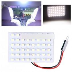 12V 48 SMD LED Panel T10 autó belső panel adapter