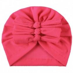 1. rózsa - Baba fejpántok Turbán kalap íj hajszalagok Gyerekek csecsemő sapka haj kiegészítők