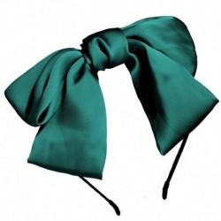 Zöld - Női női Ribbit fül hajszalag íj csomó fejpánt fejpánt haj karika tiszta szín