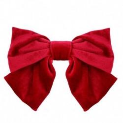 Type4 Red - ÚJ haj íj lányok bársony szatén hajtű hajtű szál hajszálak divat