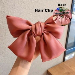 Type1 Pink - ÚJ haj íj lányok bársony szatén hajtű hajtű szál hajszálak divat