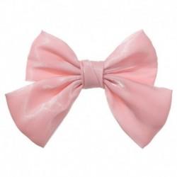 Stílus1 Rózsaszín - ÚJ haj íj lányok bársony szatén hajtű hajtű szál hajszálak divat