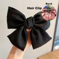 Type1 Fekete - ÚJ haj íj lányok bársony szatén hajtű hajtű szál hajszálak divat