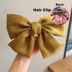 Type1 Yellow - ÚJ haj íj lányok bársony szatén hajtű hajtű szál hajszálak divat