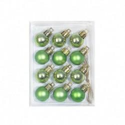 Style-6 zöld (12db HxS: 2x3cm) - Karácsonyi angyal baba játék függő medál fesztivál dísz karácsonyi fa dekoráció