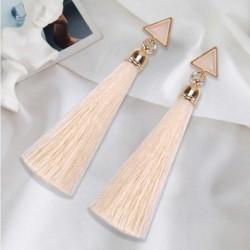 fehér - Divat kristály strasszos bojt csepp fülbevaló fülbevalók női ékszerek