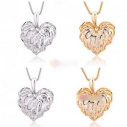 1 db Női szív szerelem medál divatos nyaklánc