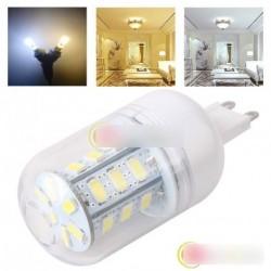 1db G9 5W 24 LED 5630 SMD Spot lámpa Meleg Fehér