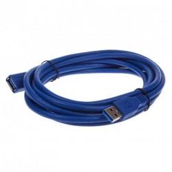 3m USB 3.0 M - F M/F Adapter kék hosszabbító kábel