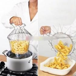 Összecsukható sütés Szűrő konyhai eszköz