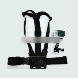 Mellkasi öv B + 3-utas tartó GoPro HD Hero 1 2 3