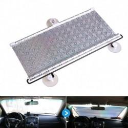 68x125cm - Lézeres fényvisszaverő, UV-blokkolt autós napernyők a szélvédő szívókupakjának hátsó ablakfedeléhez