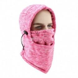 Rózsaszín - Balaclava téli meleg motorkerékpár arcmaszk arcvédő sapka szabadtéri lovaglás síelés vadászat