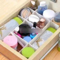 6 db DIY műanyag Fiók Szervező tartó