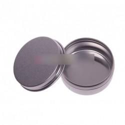 5db 50ML kerek alumínium szájfény krém tároló