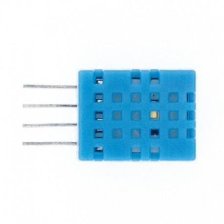 DHT11 érzékelő - 100db DHT11 hőmérséklet- és páratartalom-érzékelő digitális kimeneti hőmérséklet és