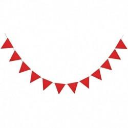F06 - Többszínű nem szőtt zászlók Bunting Banner Esküvő / Valentin-nap / születésnapi parti Zászlók Hang Garland