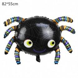 A - Halloween tök szellem lufi Halloween díszek Pókfólia léggömbök felfújható játékok Denevérgömbök Halloween