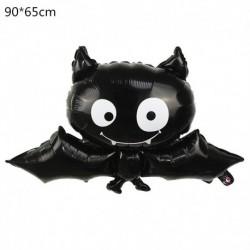 B - Halloween tök szellem lufi Halloween díszek Pókfólia léggömbök felfújható játékok Denevérgömbök Halloween