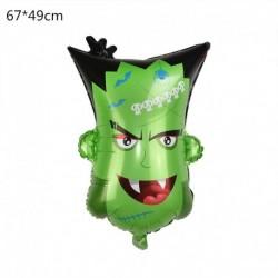 E - Halloween tök szellem lufi Halloween díszek Pókfólia léggömbök felfújható játékok Denevérgömbök Halloween