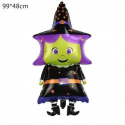 G - Halloween tök szellem lufi Halloween díszek Pókfólia léggömbök felfújható játékok Denevérgömbök Halloween