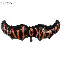 H - Halloween tök szellem lufi Halloween díszek Pókfólia léggömbök felfújható játékok Denevérgömbök Halloween