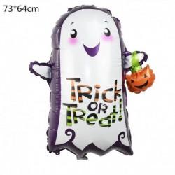 J - Halloween tök szellem lufi Halloween díszek Pókfólia léggömbök felfújható játékok Denevérgömbök Halloween