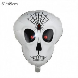 K - Halloween tök szellem lufi Halloween díszek Pókfólia léggömbök felfújható játékok Denevérgömbök Halloween