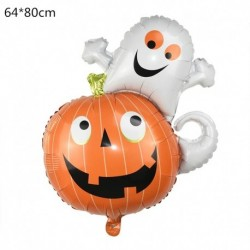 M - Halloween tök szellem lufi Halloween díszek Pókfólia léggömbök felfújható játékok Denevérgömbök Halloween