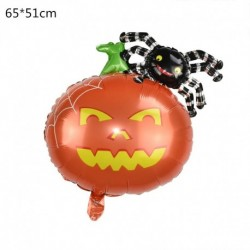 O - Halloween tök szellem lufi Halloween díszek Pókfólia léggömbök felfújható játékok Denevérgömbök Halloween