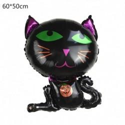 R - Halloween tök szellem lufi Halloween díszek Pókfólia léggömbök felfújható játékok Denevérgömbök Halloween