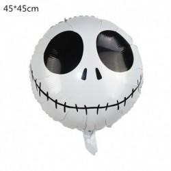S - Halloween tök szellem lufi Halloween díszek Pókfólia léggömbök felfújható játékok Denevérgömbök Halloween