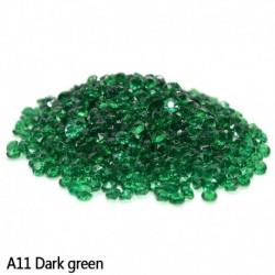 sötétzöld - Esküvői dekoráció 1000PCS 4,5 mm-es kézműves kristály konfetti asztal szórja át a kristályokat