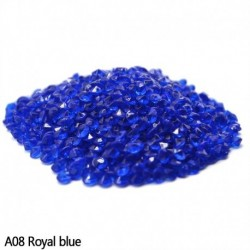 királykék - Esküvői dekoráció 1000PCS 4,5 mm-es kézműves kristály konfetti asztal szórja át a kristályokat