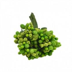 zöld - 12db / tétel Kézműves művirágok porzó cukor esküvői party dekoráció barkács koszorú ajándék doboz