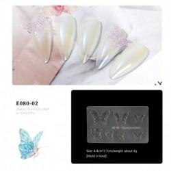 09 - 3D szilikon penész köröm stencilek köröm faragás bélyegző lemez köröm művészet sablon UV gél lengyel manikűr