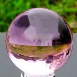 40mm ázsiai lila mágikus kristály gyógyító gömb