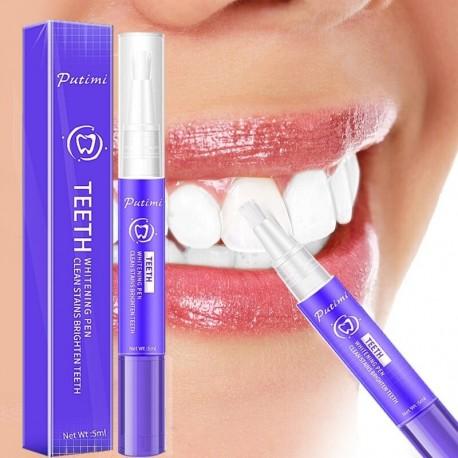 Putimi fogfehérítő toll tisztító szérum eltávolítja a plakkfoltokat fogászati eszközök szájhigiénés fehérítő