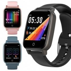 T13 Full Touch Smart Watch Fitness Tracker Vérnyomás Smart Clock GTS Smartwatch