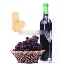 Új bor üveg természetes parafa dugó dugasz védő