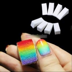 8db Műköröm köröm színező szivacs színátmenet