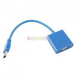 USB 3.0 - külső VGA kábel adapter Win 7 8 XP