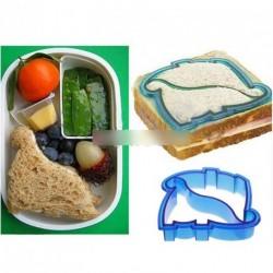 Gyerek ebéd szendvics pirítós süti forma